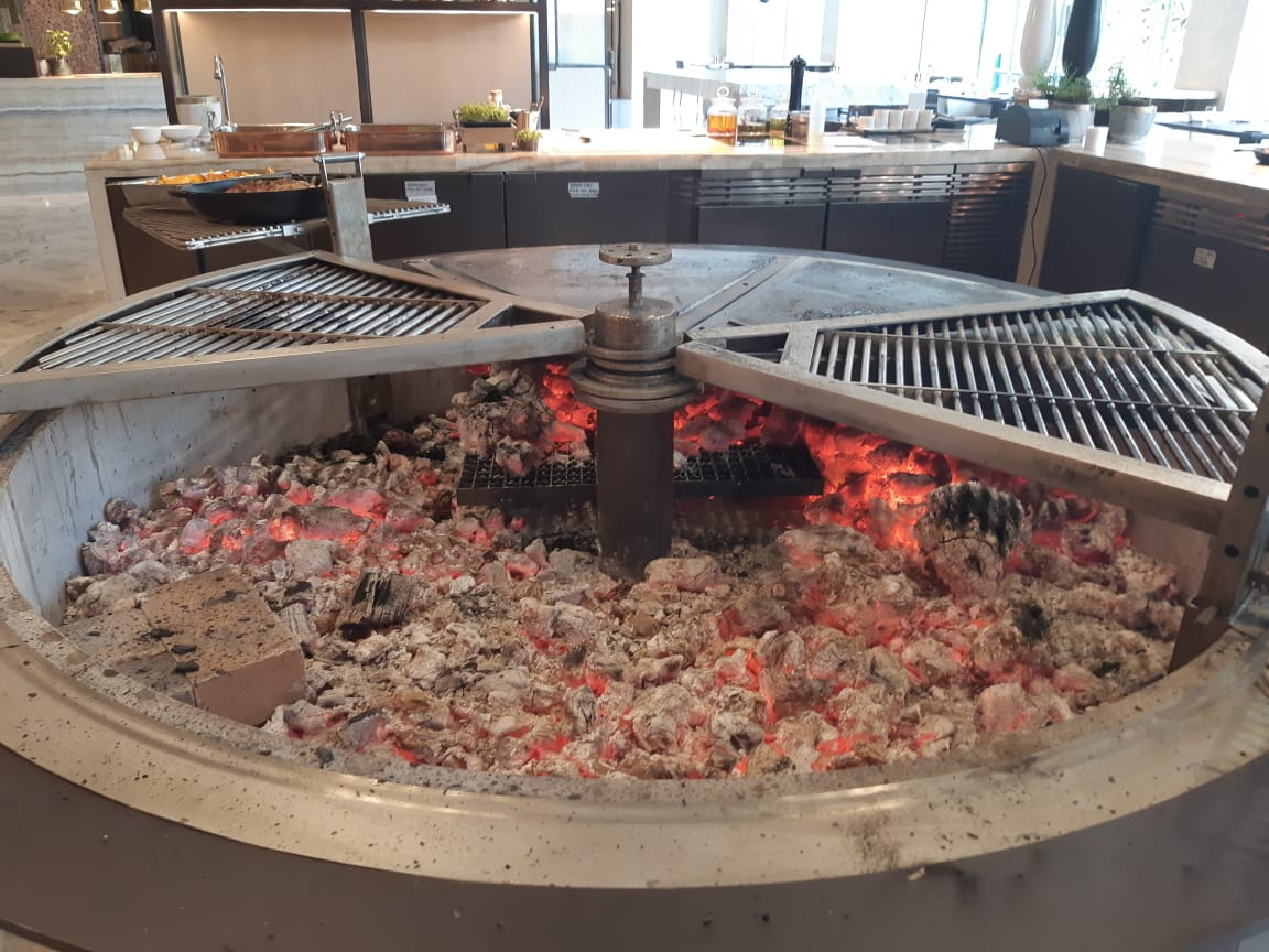 Four Seasons Bangalore Fire Pit Cooking